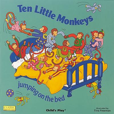 Ten Little Monkeys Jumping on the Bed -