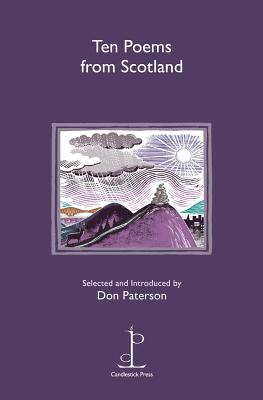 Ten Poems from Scotland - Paterson, Don (Editor)