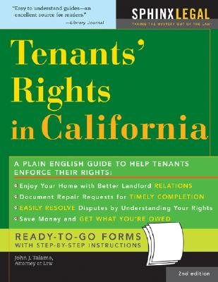 Tenants' Rights in California - Talamo, John J