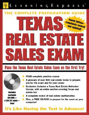 Texas Real Estate Sales Exam - Learning Express LLC (Creator)