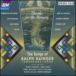 Thanks for the Memory: Songs of Ralph Rainger