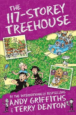 The 117-Storey Treehouse - Griffiths, Andy