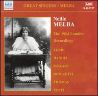 The 1904 London Recordings - Hermann Bemberg (piano); Jan Kubelík (violin); Landon Ronald (piano); Nellie Melba (soprano); Philippe Gaubert (flute);...