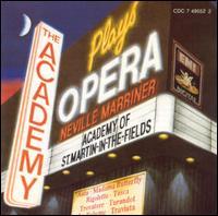 The Academy Plays Opera - Christopher Warren-Green (violin); Cynthia Millar (ondes martenot); Graham Sheen (bassoon); John Leach (cimbalom);...