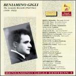 The Acoustic Records, Part One (1918-1923) - Beniamino Gigli (tenor)