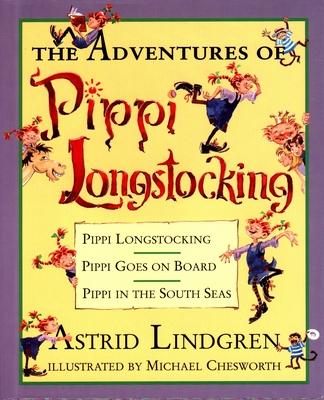 The Adventures of Pippi Longstocking - Lindgren, Astrid