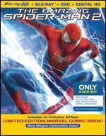 The Amazing Spider-Man 2 [3D] [Blu-ray/DVD] [Ultraviolet] [Only @ Best Buy] [Comic Book]