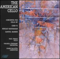 The American Cello - Paul Tobias (cello); Virginia Symphony; JoAnn Falletta (conductor)