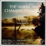 The American Chamber Ensemble performs Zaimont, V. Weigl, Hindemith