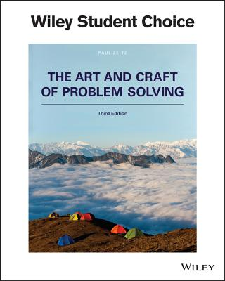 art and craft of problem solving paul zeitz