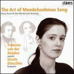 The Art of Mendelssohnian Song