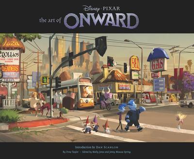 The Art of Onward - Pixar