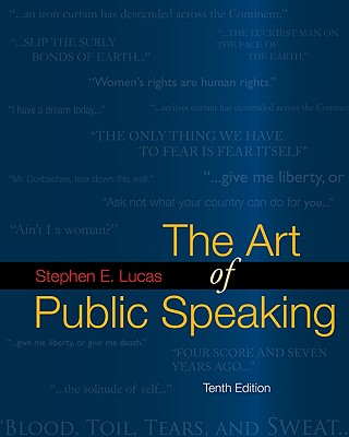 The Art of Public Speaking with Media Ops Setup ISBN Lucas - Lucas Stephen, and Lucas, Stephen E