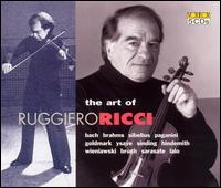 The Art of Ruggiero Ricci - Giorgio Ricci (cello); Louis Persinger (piano); Ruggiero Ricci (violin)