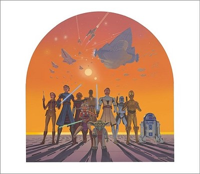 The Art of Star Wars: The Clone Wars - Parisi, Frank