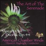The Art of the Serenade: Mozart K. 361, Dvorák Op. 44