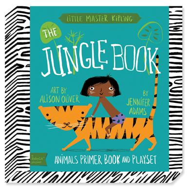 The Babylit Jungle Book Playset: Animal Primer Book and Playset - Oliver, Alison