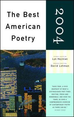 The Best American Poetry - Hejinian, Lyn (Editor), and Lehman, David (Editor)