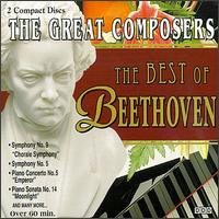The Best of Beethoven - Dubravka Tomsic (piano); Eva Bandova (alto); Josef Bacek (bass); Magdalena Paloczaj (soprano); Peter Kottwald (tenor);...