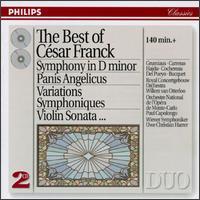 The Best of César Franck - Arthur Grumiaux (violin); Eduardo del Pueyo (piano); István Hajdu (piano); José Carreras (tenor);...