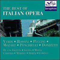 The Best of Italian Opera - Anna Moffo (vocals); Carlo del Monte (vocals); Floriana Cavalli (vocals); Franco Corelli (tenor); Giuseppe Campora (vocals);...
