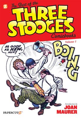 The Best of the Three Stooges Comicbooks #1 - Maurer, Norman