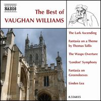 The Best of Vaughan Williams - Anthony Rolfe Johnson (tenor); Christopher Maltman (baritone); David Greed (violin); Graham Johnson (piano);...