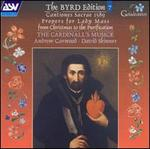 The Byrd Edition, Vol. 7: Cantiones Sacre 1589; Propers for Lady Mass from Christmas to Purification
