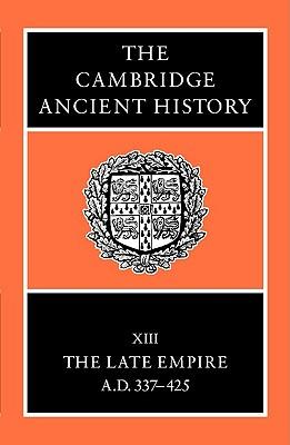 The Cambridge Ancient History - Cameron, Averil (Editor)