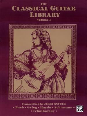 The Classical Guitar Library, Vol 1 - Snyder, Jerry