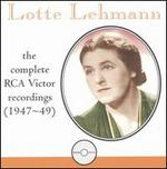 The Complete 1947-49 Victor Recordings