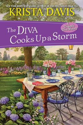 The Diva Cooks Up a Storm - Davis, Krista