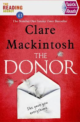 The Donor: Quick Reads 2020 - Mackintosh, Clare