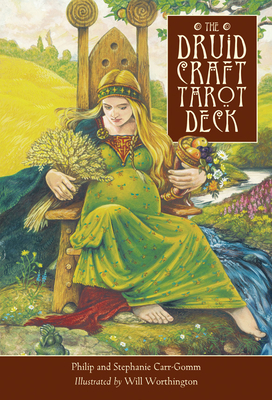 The Druid Craft Tarot Deck - Carr-Gomm, Philip, and Carr-Gomm, Stephanie, and Worthington, Will (Illustrator)