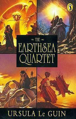 """The Earthsea Quartet: """"A Wizard Of Earthsea""""; """"The Tombs of Atuan""""; """"The Farthest Shore""""; """"Tehanu"""" - Le Guin, Ursula K."""