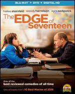 The Edge of Seventeen [Includes Digital Copy] [Blu-ray/DVD] [2 Discs]