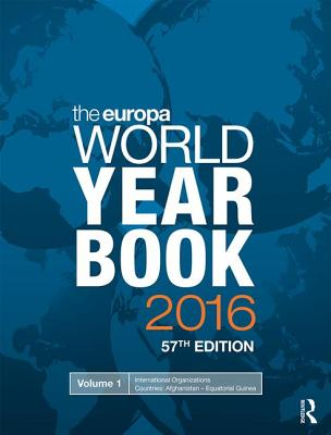 The Europa World Year Book - Europa Publications (Editor)