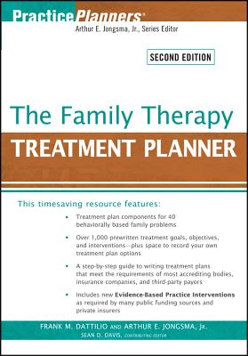 The Family Therapy Treatment Planner - Dattilio, Frank M, PhD, Abpp