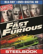The Fast and the Furious [2 Discs] [Includes Digital Copy] [UltraViolet] [SteelBook] [Blu-ray/DVD]