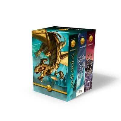 The Heroes of Olympus Boxed Set: The Lost Hero/The Son of Neptune/The Mark of Athena - Riordan, Rick