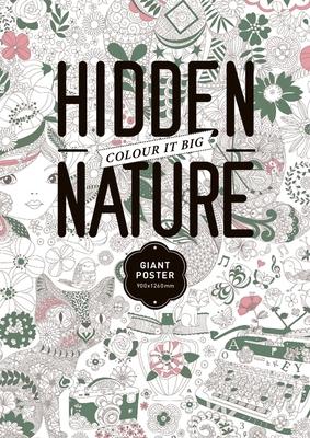 The Hidden Nature Coloring Poster - Toc De Groc