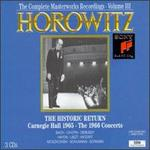 The Historic Return: Carnegie Hall 1965; The 1966 Concerts