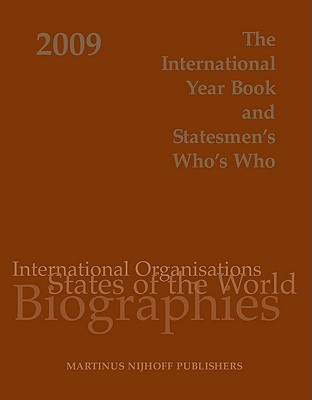 The International Year Book and Statesmen's Who's Who - Martinus Nijhoff Publishers (Creator)