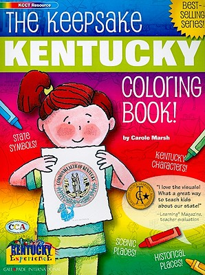 The Keepsake Kentucky Coloring Book! - Marsh, Carole