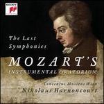 The Last Symphonies: Mozart's Instrumental Oratorium - Concentus Musicus Wien; Nikolaus Harnoncourt (conductor)