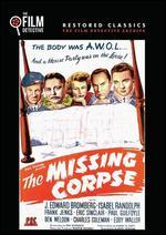 The Missing Corpse - Albert Herman