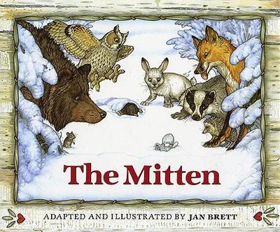 The Mitten: A Ukrainian Folktale - Brett, Jan