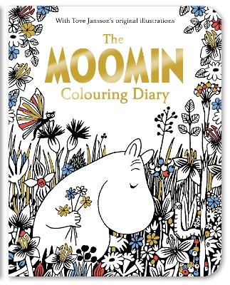 The Moomin Colouring Diary -