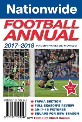 The Nationwide Annual 2017-18: Soccer's pocket encyclopedia - Barnes, Stuart (Editor)