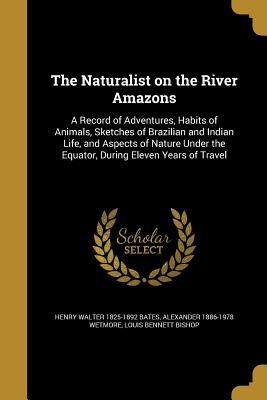The Naturalist on the River Amazons: A Record of Adventures, Habits of Animals, Sketches of Brazilian and Indian Life, and Aspects of Nature Under the Equator, During Eleven Years of Travel - Bates, Henry Walter 1825-1892, and Wetmore, Alexander 1886-1978, and Bishop, Louis Bennett